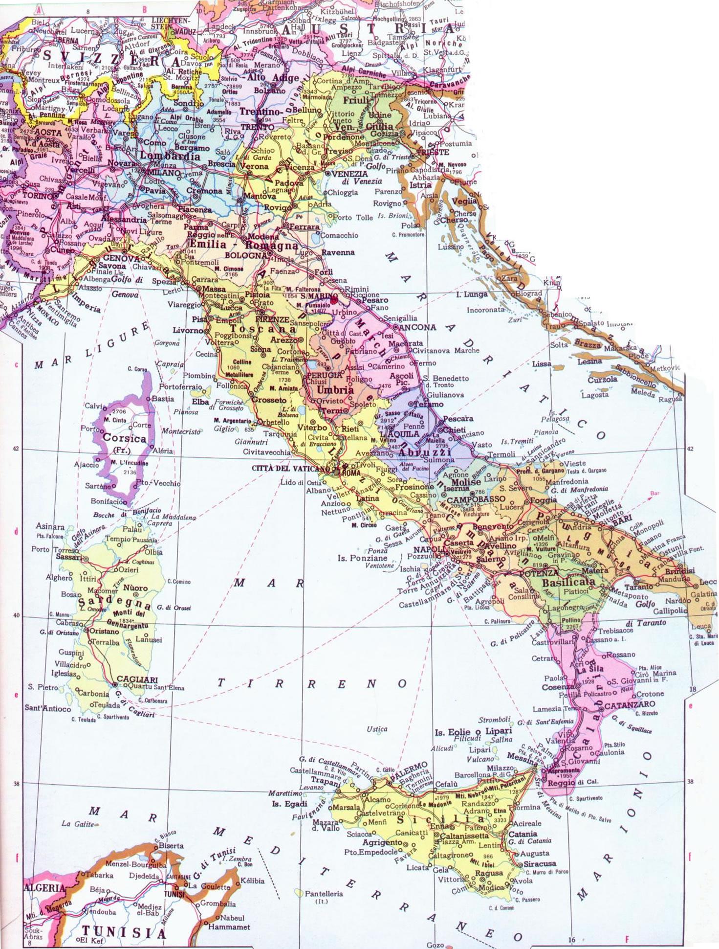 Mappa Italia - JungleK...