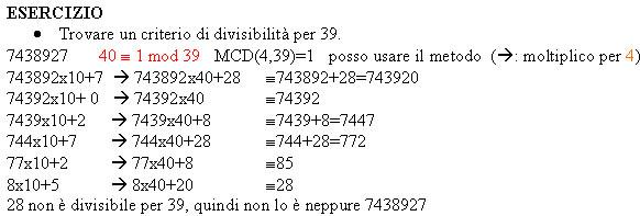 innovative design a63e7 d7ccf I criteri di divisibilità
